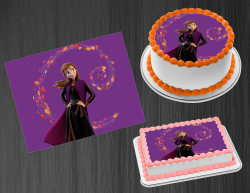 Frozen 2 Anna Edible Image Icing Frosting Sheet #19 Cake Cupcake Cookie Topper