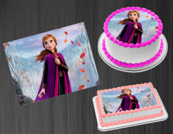 Frozen 2 Anna Edible Image Icing Frosting Sheet #25 Cake Cupcake Cookie Topper