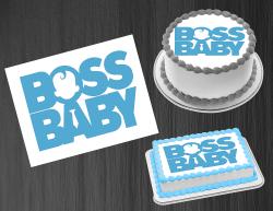 Boss Baby Boy Logo Edible Image Icing Frosting Sheet #2 Cake Cupcake Topper