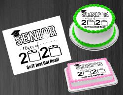 Senior 2020 Graduation Edible Image Frosting Sheet #8 Cake Cupcake Cookie Topper