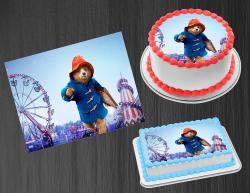 Paddington Bear Edible Image Frosting Sheet #1 Cake Cupcake Cookie Topper