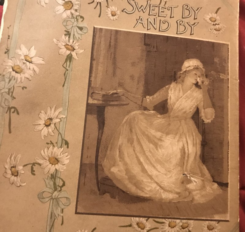 Image 0 of SWEET BY and BY S.Fillmore Bennett,Victorian Illustrated Cover hymn Poetry