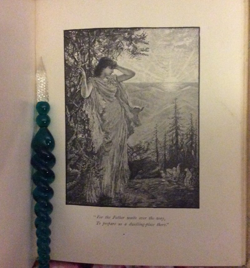 Image 3 of SWEET BY and BY S.Fillmore Bennett,Victorian Illustrated Cover hymn Poetry