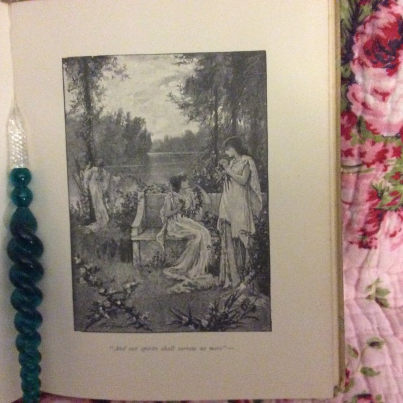 Image 7 of SWEET BY and BY S.Fillmore Bennett,Victorian Illustrated Cover hymn Poetry