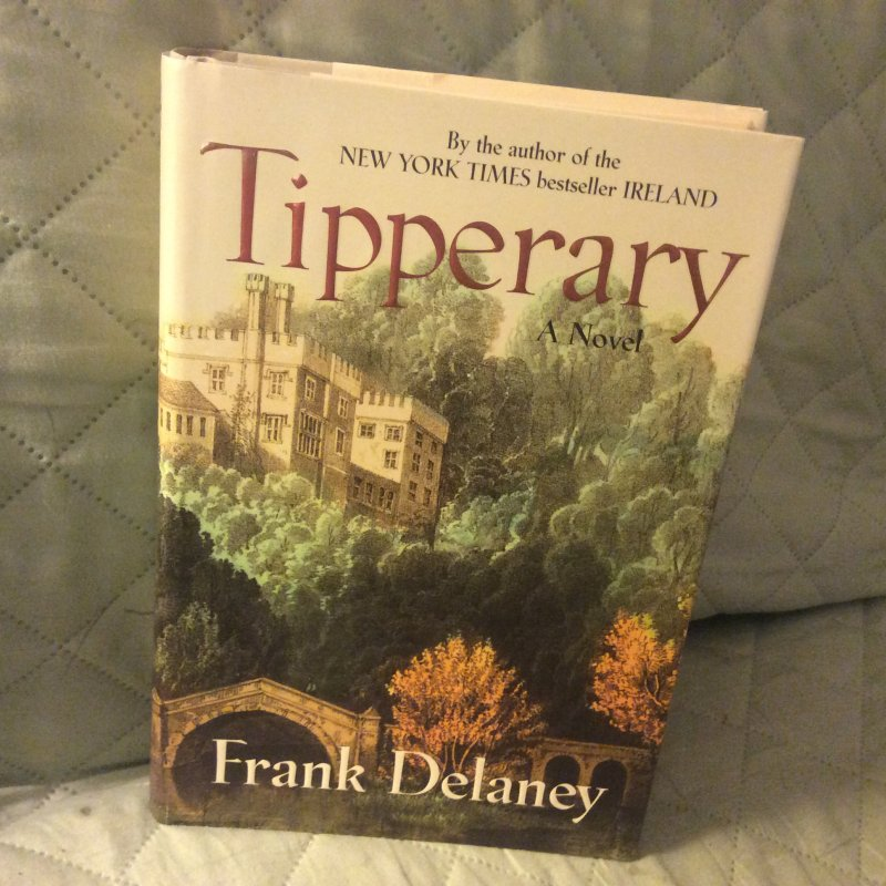 Image 1 of Tipperary SIGNED Frank Delaney 1ST ED HC Ireland at Literary Garden Bookshop