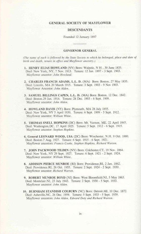 Image 4 of MAYFLOWER ANCESTRAL INDEX Pilgrim Genealogy,Lineage NEW,FINE