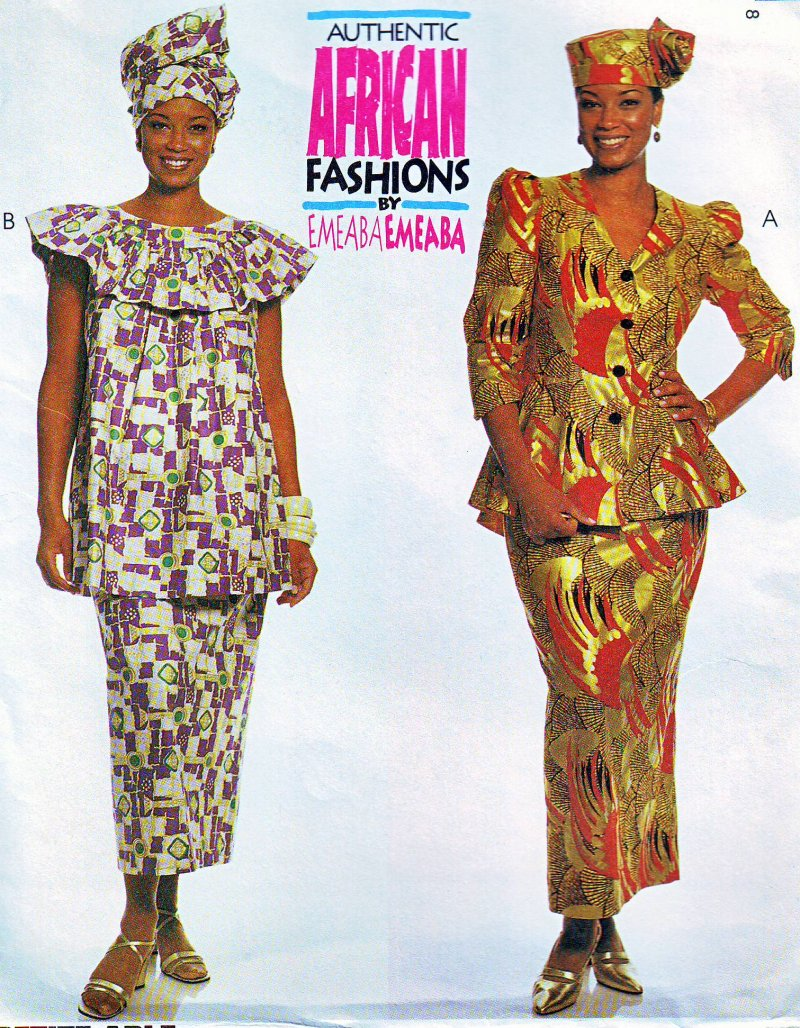 Image 1 of McCall's 2089 (16,18,20) African Fashions by Emeaba Emeaba Uncut Sewing Pattern
