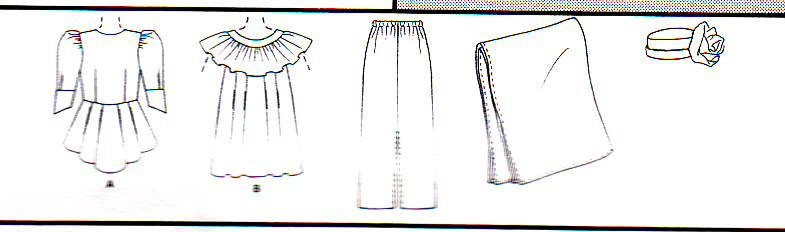 Image 2 of McCall's 2089 (16,18,20) African Fashions by Emeaba Emeaba Uncut Sewing Pattern
