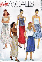 McCall's 2748 Misses' (Xsm-Sml-Med) or (Lrg-Xlg) Skirts Uncut Sewing Pattern