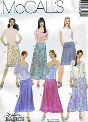 McCall's 2689 Misses' ( 4-6-8) or (8-10-12) Skirts Uncut Sewing Pattern