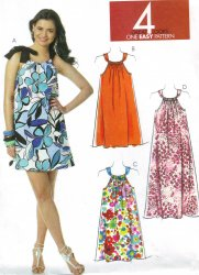 McCall's 6115 Sewing Pattern Misses' Summer Dress (14-16-18-20) Pattern
