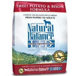Natural Balance Limited Ingredients Diets Sweet Potato & Bison Dog Food