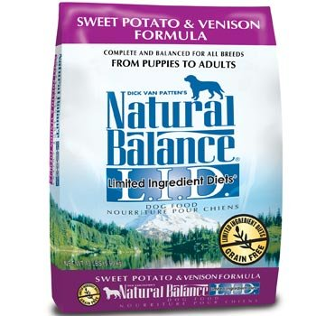 Image 0 of Natural Balance Limited Ingredients Diets Sweet Potato & Venison Dog Food 26LB