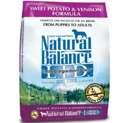 Natural Balance Limited Ingredients Diets Sweet Potato & Venison Dog Food 26LB
