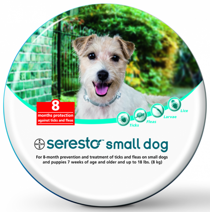 Image 0 of Bayer Seresto Flea and Tick Collar for Small Dogs