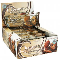 Quest Nutrition, Protein Bar, Double Chocolate Chunk, 12 Bars, 2.12 oz (60 g)