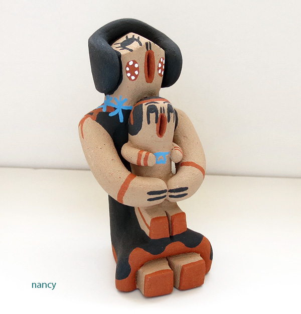 Jemez Pottery Storyteller One Baby - 2715pl