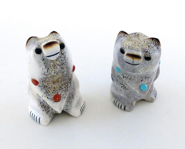 Zuni Made Bear Fetishes - 2532ft