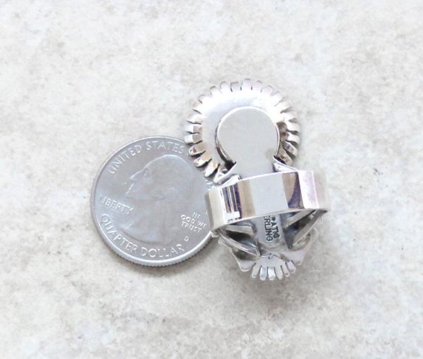 Image 5 of Morning Singer Turquoise Kachina Ring size 9 Bennie Ration Navajo - 3071br