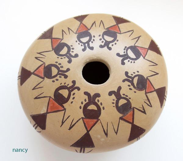 Hopi Pottery Seed Pot Elva J Nampeyo - 2724sp