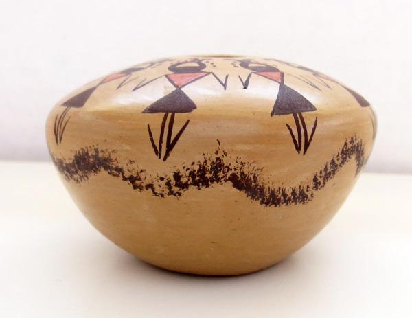 Image 1 of Hopi Pottery Seed Pot Elva J Nampeyo - 2724sp