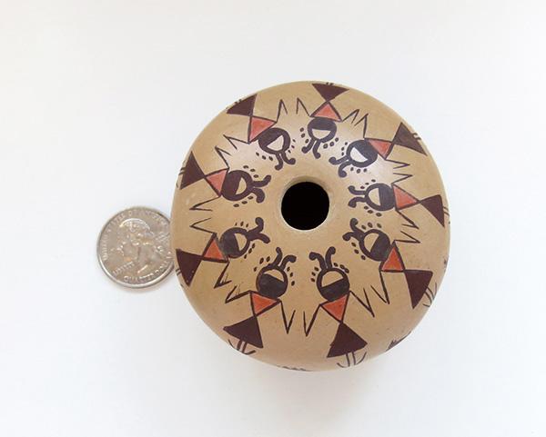 Image 2 of Hopi Pottery Seed Pot Elva J Nampeyo - 2724sp