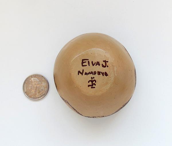 Image 3 of Hopi Pottery Seed Pot Elva J Nampeyo - 2724sp