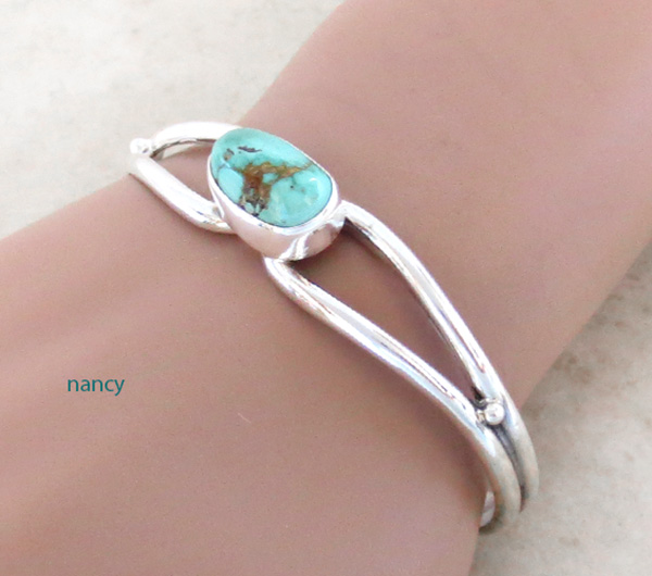 Royston Turquoise & Sterling Silver Bracelet Freddy Charlie - 2075sn