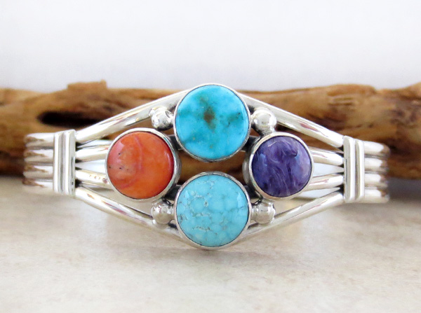 Image 0 of         Turquoise & Sterling Silver Native American Jewelry - 2868sn