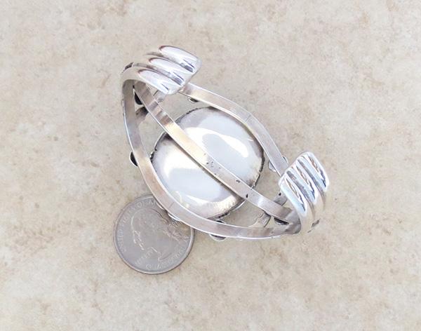 Image 4 of Big Royston Turquoise & Sterling Silver Bracelet Alfred Martinez - 3792dt