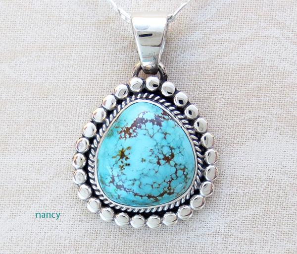 Sierra Nevada Turquoise & Sterling Silver Pendant Joe Piaso Jr - 3945sn