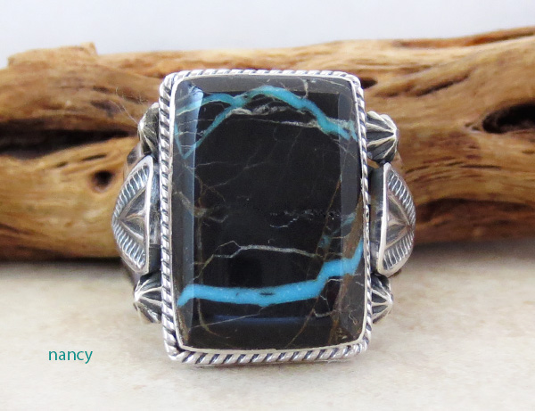 Sunnyside Turquoise & Sterling Silver Ring Size 11.5 - 4306sn