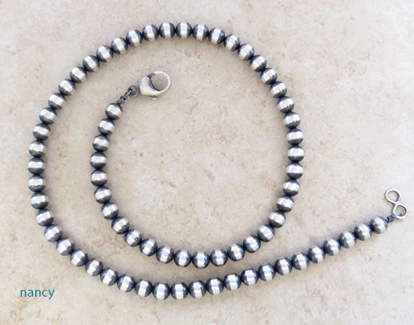 Image 1 of Sterling Silver Desert Pearl Necklace 19