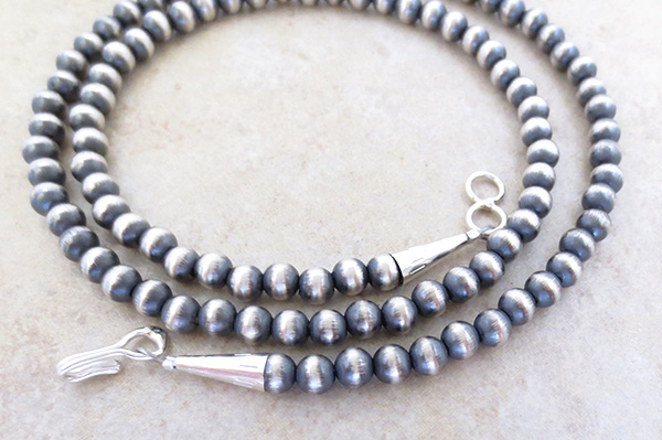 Image 1 of   Sterling Silver Desert Pearl Necklace 20