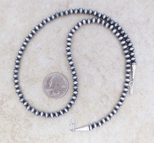 Image 2 of   Sterling Silver Desert Pearl Necklace 20