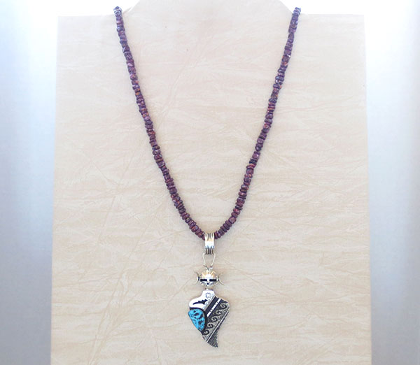 Image 2 of Purple Spiny Oyster Necklace 30