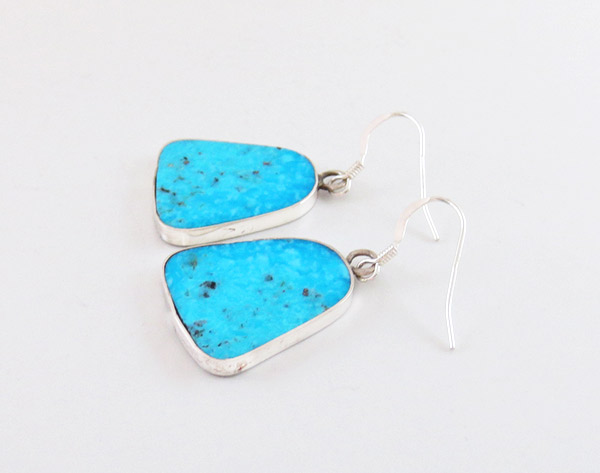 Image 1 of  Santo Domingo Jewelry Turquoise & Sterling Silver Earrings - 1943rio