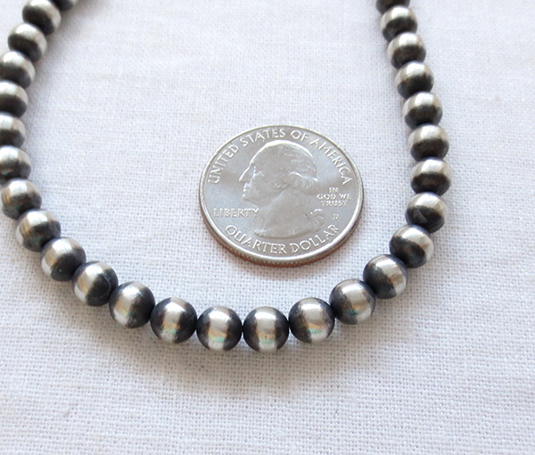 Image 2 of Sterling Silver Desert Pearl Necklace 18