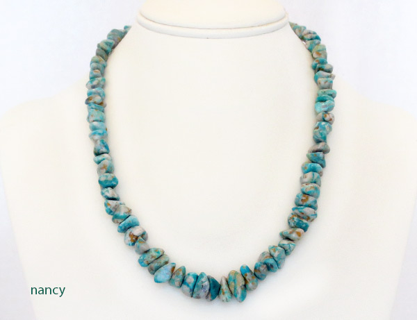 Image 1 of Fox Turquoise Necklace 18