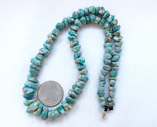Image 2 of Fox Turquoise Necklace 18