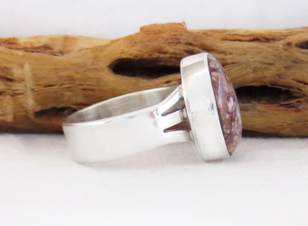 Image 2 of    Navajo Jewelry Wild Horse Stone & Sterling Silver Ring size 9 - 3316sn