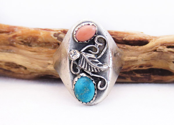 Image 0 of Old Vintage Turquoise Ring Sz 11.75 Southwest Jewelry - 6025vt