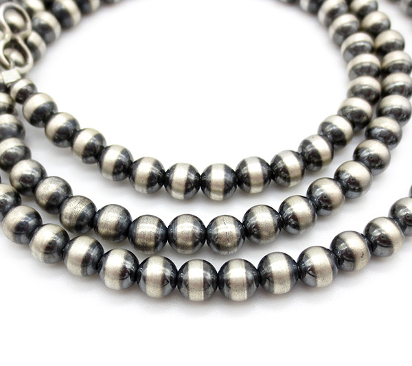 Image 1 of    Sterling Silver Desert Pearl Necklace 24