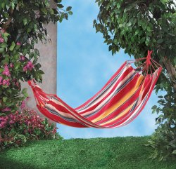 Colorful Fiesta Striped Hammock