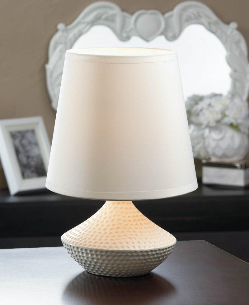 Ceramic and fabric shade