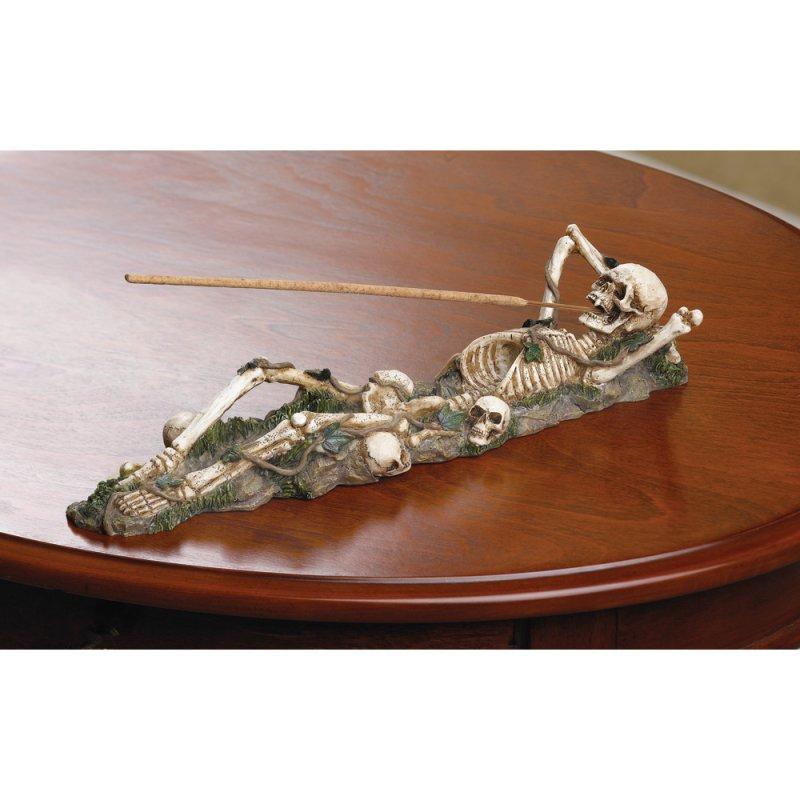 Image 0 of Skeleton Incense Burner Holder