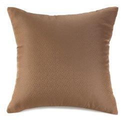 Osaka Chestnut Brown Accent Throw Pillow
