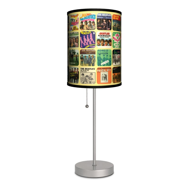 Beatles Single Cover The Yellow Lamp Shade Table Lamp Made in U.S.A.:,Lighting