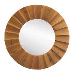 Round Wood Wall Decor d & m specialty: wall decor
