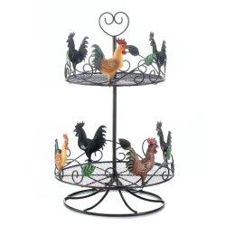 '.Rooster 2 Tier Countertop Rack.'